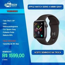 Apple Watch Serie 4 44mm GPS Gray (Tela Trocada)