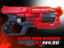 Nerf Mega Cycloneshock + 6 Dardos Mega