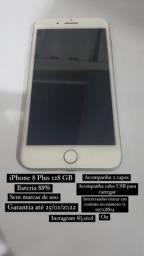 Título do anúncio: iPhone 8 Plus com garantia até janeiro 2022