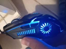 Mouse G5 gamer com led (NOVO)