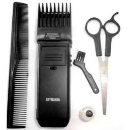 Maquineta aparadora de pelos e barba