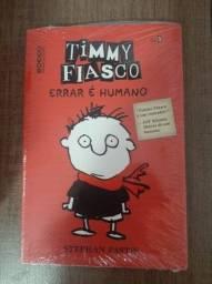 Livro - Errar É Humano - Timmy Fiasco. Novo!