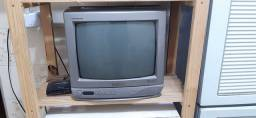 Televisão Panasonic tubo 14 polegadas