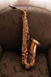 Saxofone sax alto marca dolpin