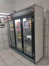 Título do anúncio: Vendo freezer auto serviço frios e laticínios 3 portas.