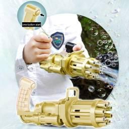 Título do anúncio: Máquina de bolhas criança brinquedo