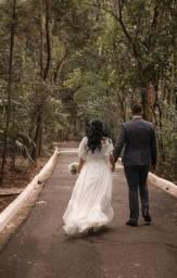 Vestido de noiva para cerimônia ou civil