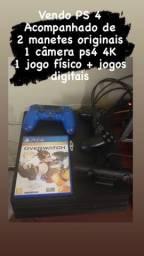 PS 4 novo