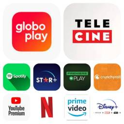 Título do anúncio: Globo Play Netflix Prime Video