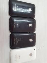 4 aparelhos iPhone 3gs para colecionadores