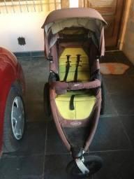 Carrinho de Bebê Corrida  Suspensão Roda Ar Graco Linha Jogger