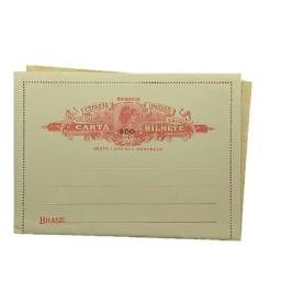 Título do anúncio: Carta bilhete antigo - Novo - CB95 - 200/300 - auto valor de catalogo