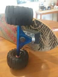 Skate longboard off road