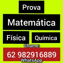 Título do anúncio: Professor  Matemática Física Química Hidráulica Rema Cálculo Edo Álgebra Estatística Prova