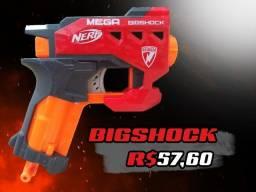 Nerf Mega Bigshock + 2 Dardos Mega