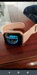 Smartwatch D20 PRETO/ROSA