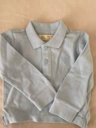 Polo e camisa Zara infantil