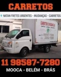 Carretos e Pequenas Mudanças - Região Mooca - São Paulo para Litoral e Interior