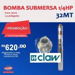 Título do anúncio: Bomba d?agua Submersa de (2,5) polegadas, 1/4HP