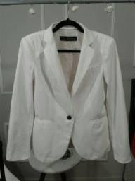 Blazer branco Zara M