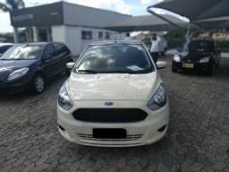 Ford Ka 1.0 Versão Se, Branco, 4p, Flex, Revisado