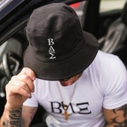 Título do anúncio: Boné Masculino preto Chapéu  Bucket Pescador marca Bae