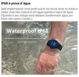 Smartwatch S08 à prova d'água! Todo funcional e barato! Apenas 239,00. Aproveite!