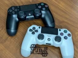 Manete PS4 - controle DualShock 4, novo com garantia