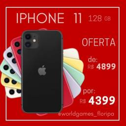 Iphone 11 128 gb. ( Preto ou Branco ) Oferta Poucas pecas!!!