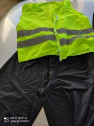 Título do anúncio: Capa de chuva colete e calça