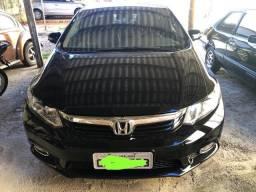 Honda Civic Sedan LXS 1.8 Preto