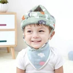 Título do anúncio: Capacete criança anti queda proteção