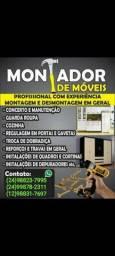 Título do anúncio: Montador d móveis em geral