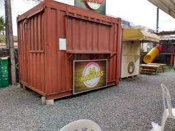 Trailer container