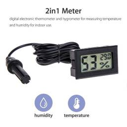 Título do anúncio: termômetro e higrômetro digital