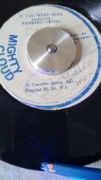 Discos de Reggae de Vinil Rotação 45 (importados)