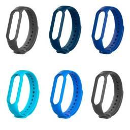 Título do anúncio: Kit Pulseira Mi Band 3 E 4 Smartwatch 6 Unidades