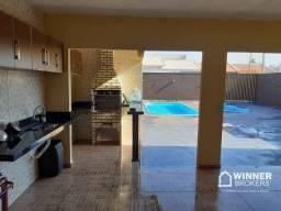 Casa com 3 dormitórios à venda, 120 m² por R$ 310.000 - Jardim Aeroporto - Arapongas/PR