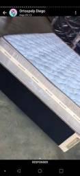 Título do anúncio: Molas ensacadas. Ou semiortopedico casal 25 cm de altura