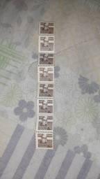 8x selo 0,10 Frei Nicodemos