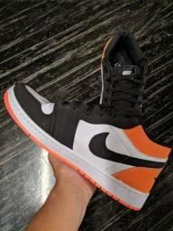 Air Jordan 1 low laranja