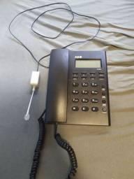 Telefone fixo com fio