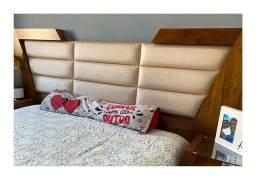 Cabeceira cama almofadada