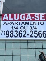 Alugo Apartamentos 1/4 e 3/4. Leia descrição