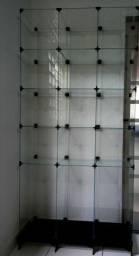 Prateleira em vidro