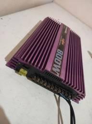Pyramid 800w vendo outro troco por Power one 2400
