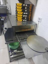 Título do anúncio: Forno para pizzaria esteira elétrico