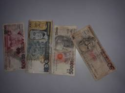 Título do anúncio: Cédulas de dinheiro antigo