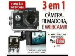 Câmera de ação.