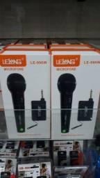 Microfone sem fio Lelong 30mt